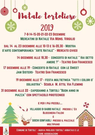 Natale tortoliese 2019