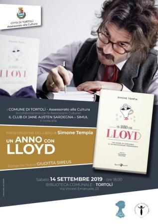 Presentazione del libro 'Un anno con Lloyd' in biblioteca